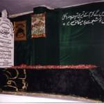 Mazar Mubarak, Aashiq-e-Rasool, Hadhrat Allama Maolana Syed Muhammad Riazuddin Soharwardy (May Allah's blessings upon him) in Karachi, Pakistan