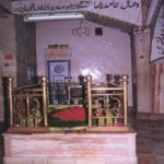 Mazar of Hazrat Haamid Raza Khan (May Allah shower His blessings upon him) in Brely, India.