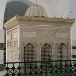 Mazar of Hazrat Jafar Ibn Abi Talib (May Allah be pleased with him), the cousin of Prophet Muhammad (peace be upon him) near the city of Mu'tah in southern Jordan.