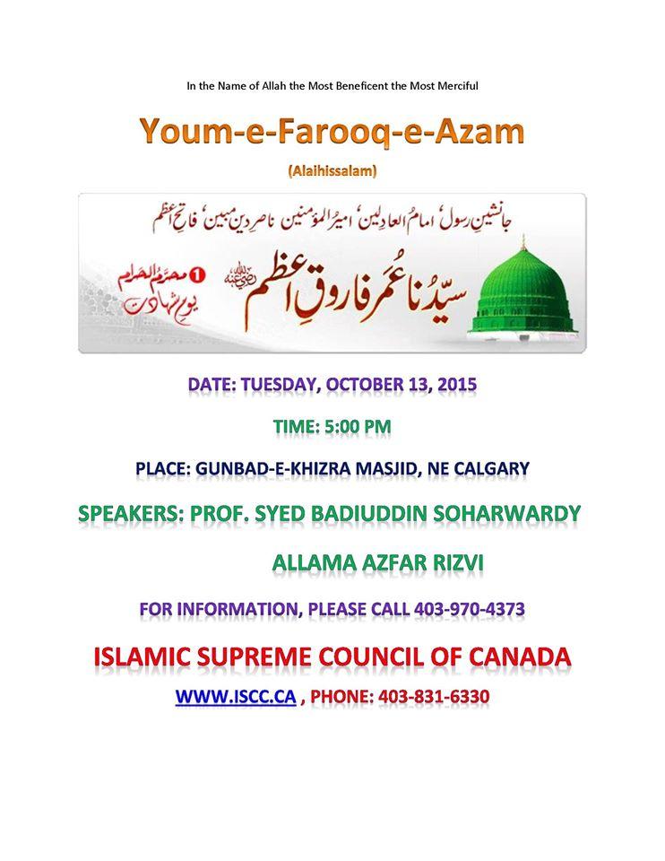 Youm-e-Farooq-e-Azam-RA-October-13-Calgary