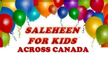 Saleheen for Kids across Canada