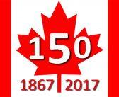 150th Anniversary Happy Canada Day
