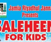 Saleheen for Kids (Calgary, Toronto, Mississauga, Montreal)
