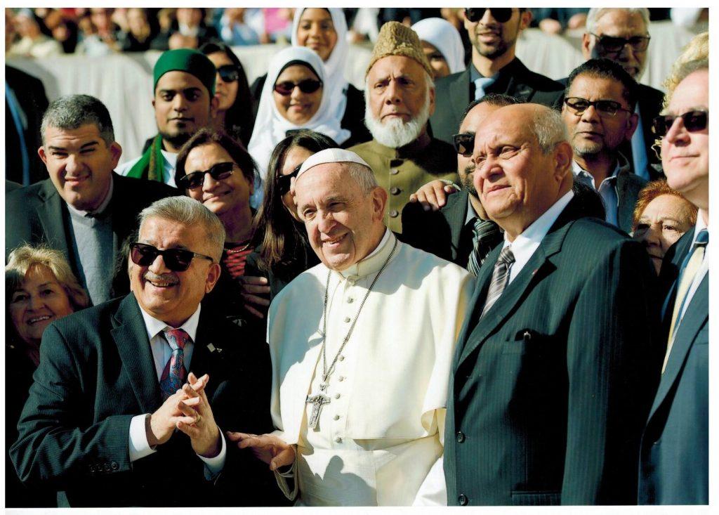 Imam Soharwardy meets Pope Francis 2