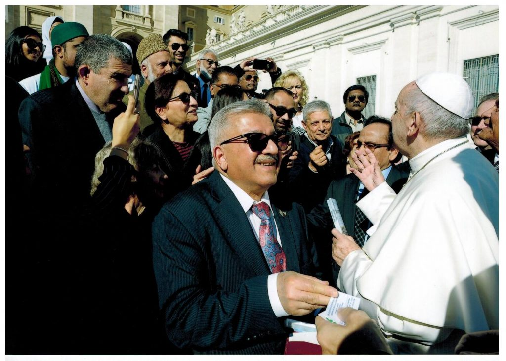 Imam Soharwardy meets Pope Francis 3