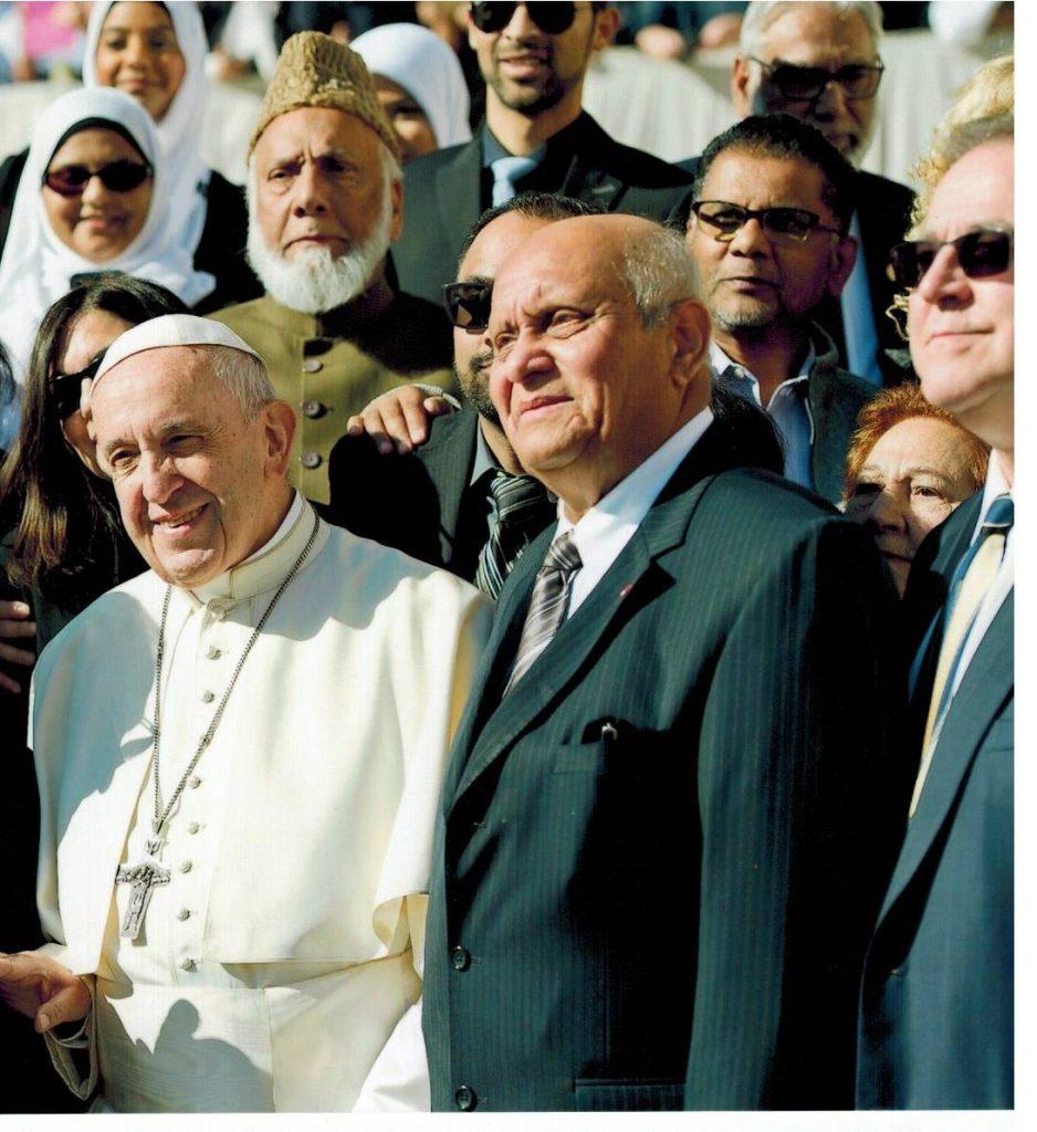 Imam Soharwardy meets Pope Francis 4