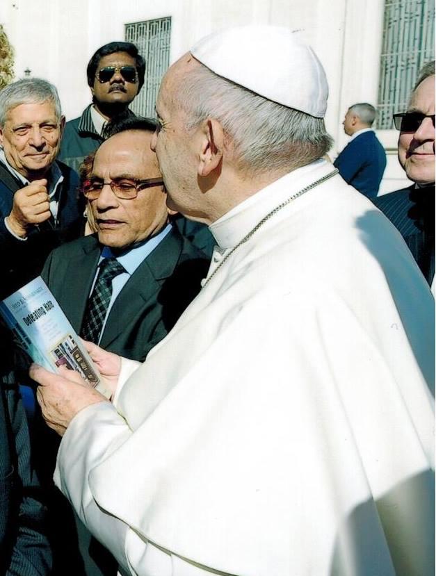 Imam Soharwardy meets Pope Francis 5