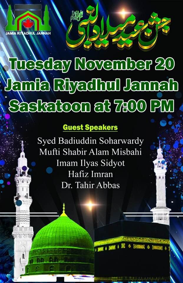 Milad Shareef - Saskatoon - November 20, 2018