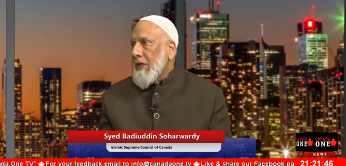 Imam Syed Soharwardy's interview on the current state of Ummah in Urdu Language