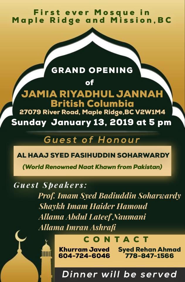 Opening-JRJ-British-Columbia-Maple-Ridge-January-13-2019