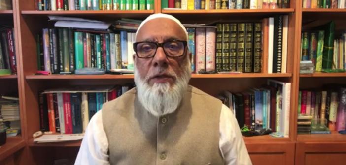 Elections 2019 – Message from Prof. Imam Syed Badiuddin Soharwardy