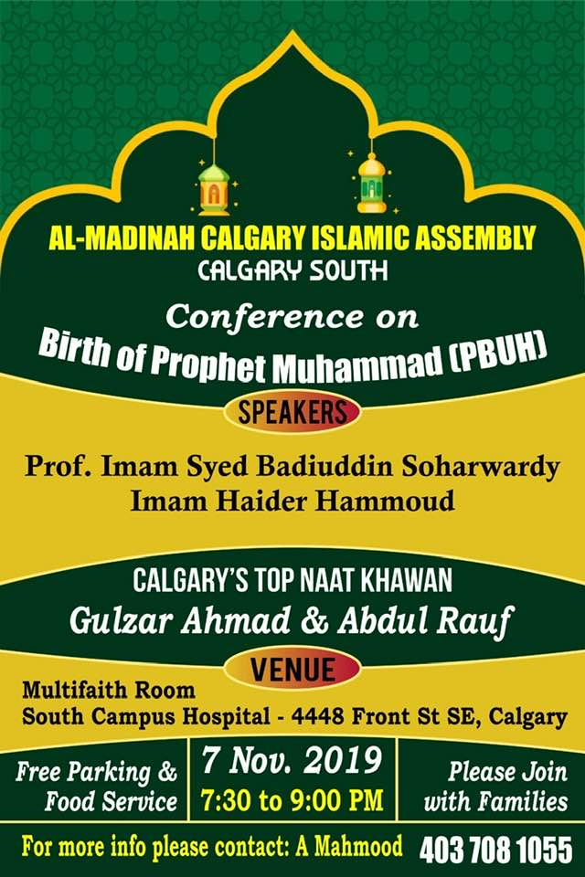 Conference-on-Birth-of-Prophet-Muhammad-S-1441-Calgary-Nov-07-2019