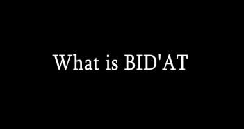 what-is-bidat