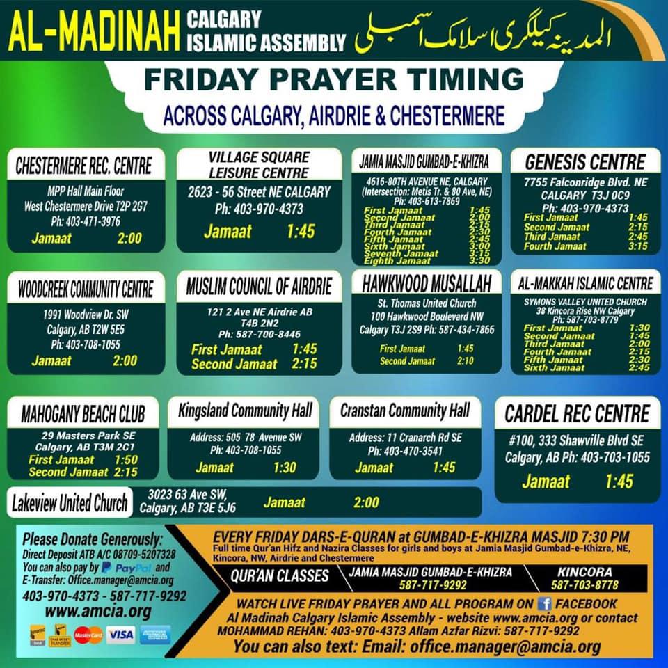 AMCIA-Jumuah-Prayer-Timing