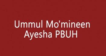 Ummul-Mo'mineen-Ayesha