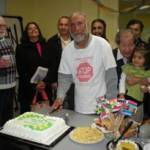 Cake cutting ceremony at the Intercultural Association of Greater Victoria organized by the Canpak Alliance of Victoria