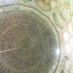 Interior of ornate dome over the Mazar of Imam Al-Shafi'i inCairo, Egypt