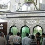 Mazar of Hazrat Sayyida Zaynab (May Allah be pleased with her) in Cairo, Egypt.