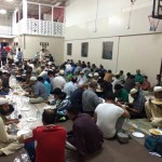 Alhamdulillah, daily AFTAAR at Jamia Riyadhul Jannah, Mississauga. Large number of Muslims break their fast at JRJ Mississauga. May Allah bless all the contributors, supporters, volunteers and members of Jamia Riyadhul Jannah, Mississauga. May Allah protect this masjid from the evil of HAASEDEEN. Ameen.
