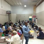 Hundreds of people opened their fast at Jamia Riyadhul Jannah Mississauga every day.