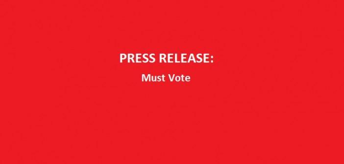 Press-release-must-vote