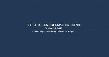 Shohada-e-Karbala-AS-Conference-Calgary-October23-2015