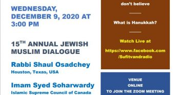 15th Annual Jewish Muslim Dialogue - 9 Dec 2020
