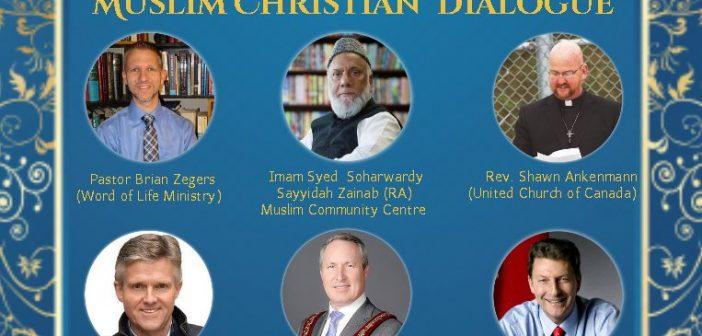 Annual Muslim Christian Dialogue – December 16, 2020