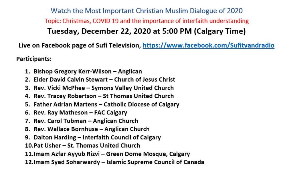 Speakers - 2nd Annual Christian Muslim Dialogue