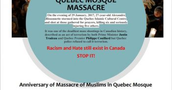 Fatiha for Shuhada of Quebec Mosque Massacre
