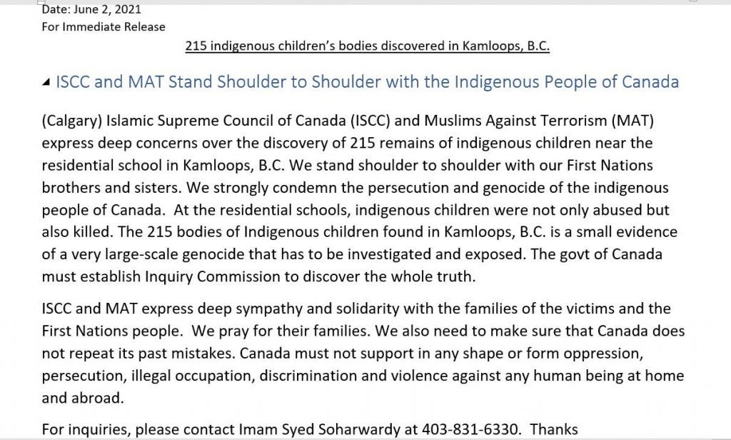 Press-Release-ISCC-and-MAT-Stand-Shoulder-to-Shoulder-with-Indigenous-People-of-Canada