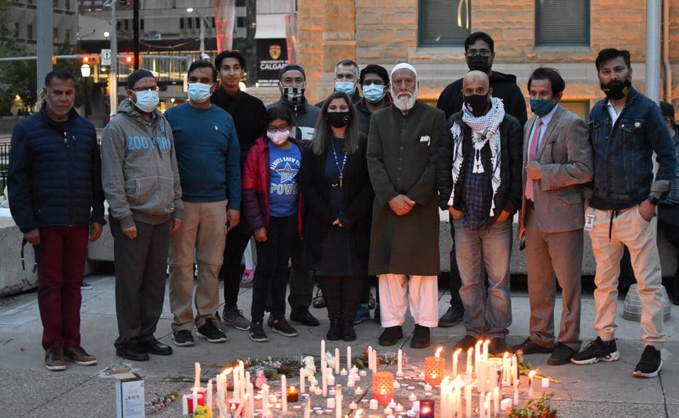 Vigil-for-our-London-Family-Calgary-14