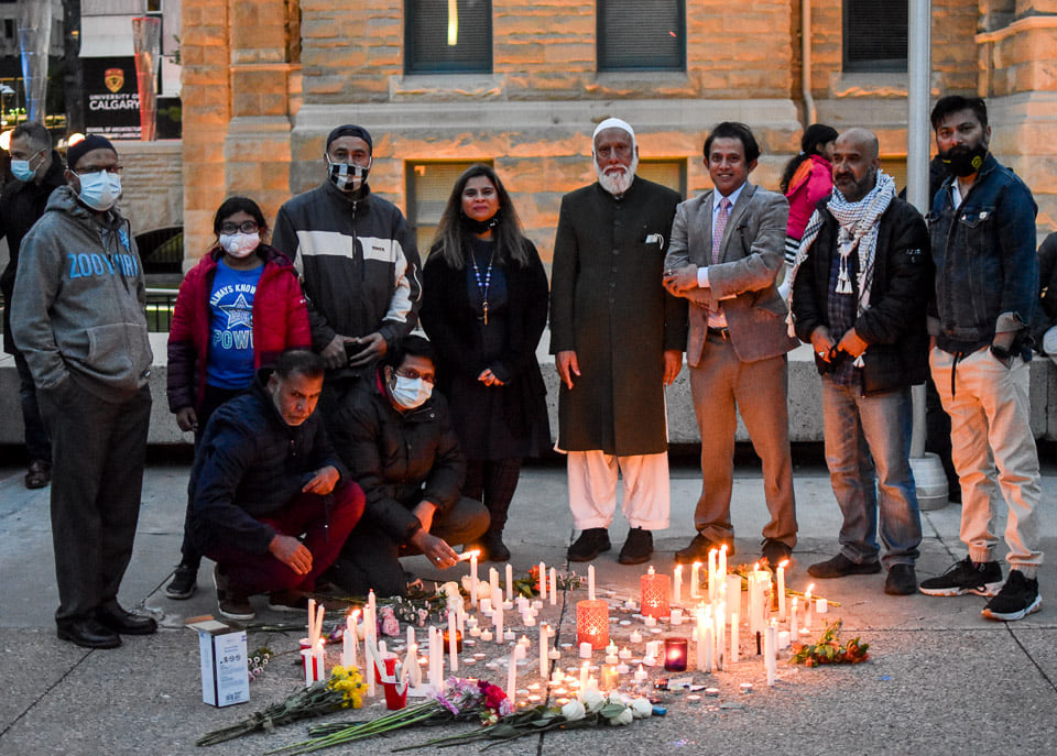 Vigil-for-our-London-Family-Calgary-15